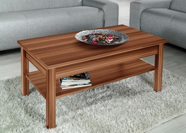 Kafijas galdiņš Cama Meble Uni, brūna, 1100x600x470 mm