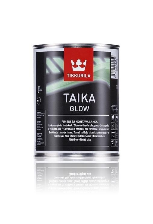 Laka tumsā spīdoša Taika glow 1l