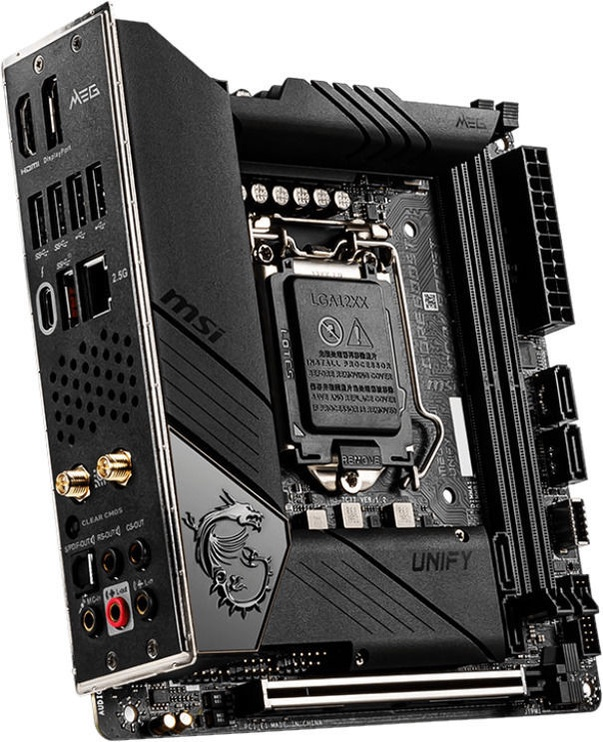 Mātesplate MSI MEG Z490I UNIFY