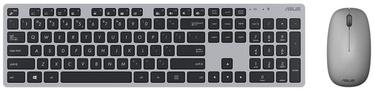 Asus W5000 Wireless Keyboard and Mouse Set EN/RU Gray
