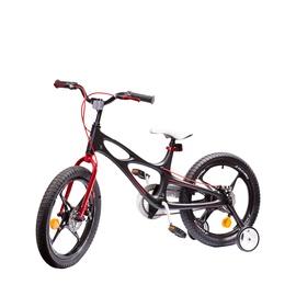 """Vaikiškas dviratis Royalbaby RB16-22, juodas, 16"""""""