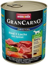 Animonda GranCarno Original Spinach & Beef & Salmon 800g