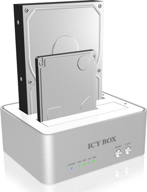 ICY BOX Docking and Cloning Station for SATA HDD/SSD USB3.0
