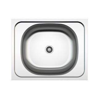 Asil Krom Sink AS21 With Siphon AS1007