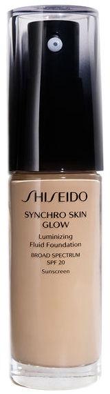 Tonālais krēms Shiseido Synchro Skin Glow Luminizing Fluid SPF20 N3, 30 ml