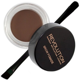 Makeup Revolution London Brow Pomade With Double Ended Brush 2.5g Chocolate