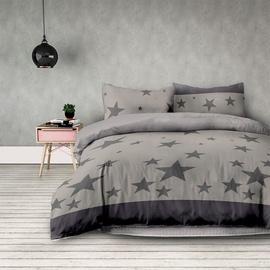 Комплект постельного белья AmeliaHome, серый, 140x200
