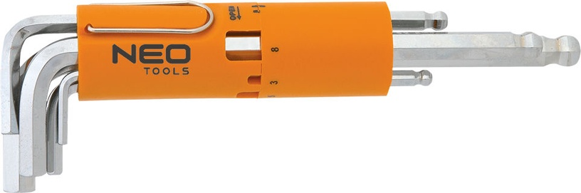 NEO 09-513 Hex Key Set 8pcs