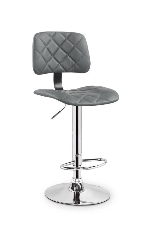 Baro kėdė H74, pilka