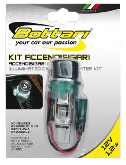 Bottari Illuminated Cigarette Lighter 12V 30085