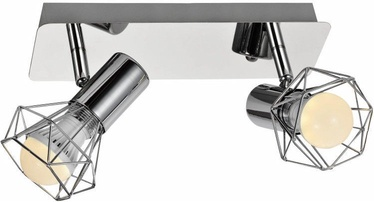 ActiveJet Blanka Ceiling Lamp Silver 2x40W E14