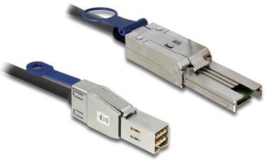 Delock Cable SAS HD SFF-mini / SAS SFF-mini Black 2m