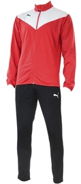 Puma Essentials Pro Poly Junior Tracksuit Red Black 176