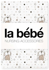 La Bebe Nursing Cotton Bedding Set Bunnies 3pcs 55659