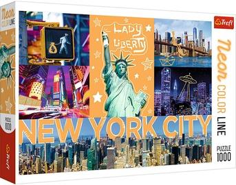 Trefl Puzzle Neon Color Line Neon City 1000pcs 10579