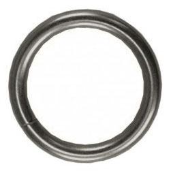 Karnīzes gredzens D19, matēta sudraba, 10gab.