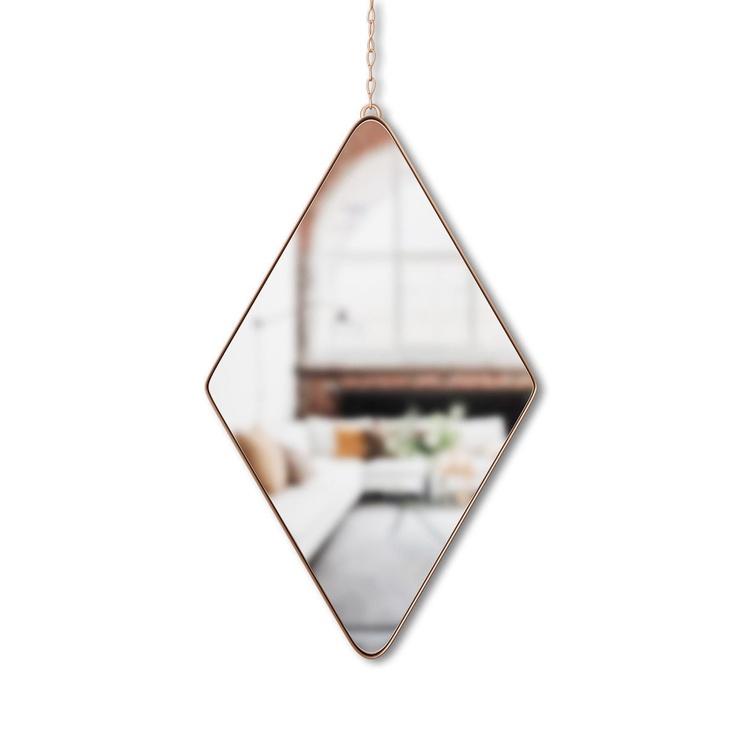 Peegel Umbra Dima Copper, riputatav, 17x29 cm