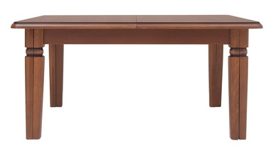 Black Red White Bawaria Max Extendable Table 160/360cm Walnut