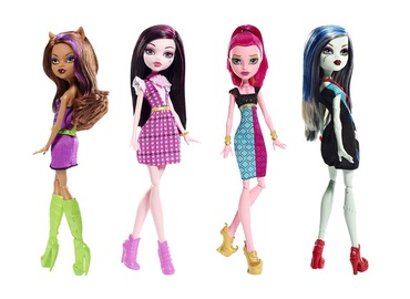 NUKK MONSTER HIGH DKY17/DTD90