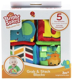 Bright Starts Grab & Stack Blocks 52160