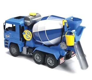 Žaislinė betonmaišė Bruder 02744