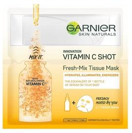 Garnier Skin Naturals Vitamin C Shot Fresh Mix Tissue Mask 1pcs