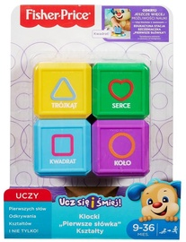 Fisher Price Blocks First Words Forms 4 pcs FJP05