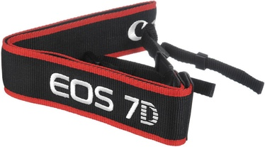 Canon EOS 7D Wide Strap Black/Red