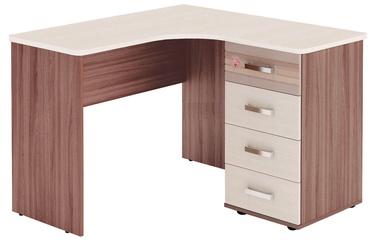 DaVita Britanija 52.15 Desk Koburg Oak/Ash Shimo/Beige