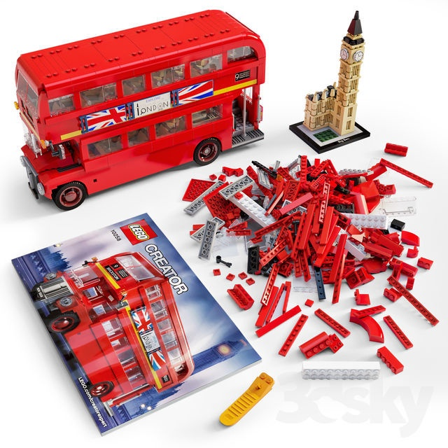 Konstruktors LEGO® Creator 10258 Londonas autobuss