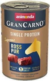 Animonda GranCarno Single Protein Dog Wet Food With Pure Horse 400g