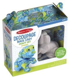 Melissa & Doug Decoupage Made Easy Craft Set Puppy