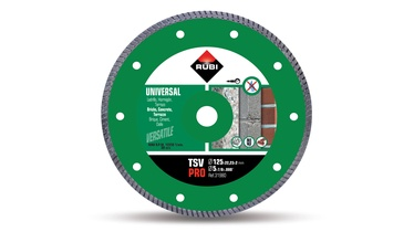 Rubi Diamond Cutting Discs TSV 125 Pro