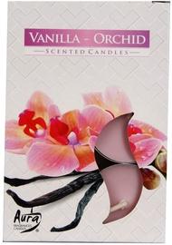 Aura Candles Tea Lights Vanilla/Orchid 6pcs