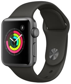 Išmanusis laikrodis Apple Watch Series 3, pilka