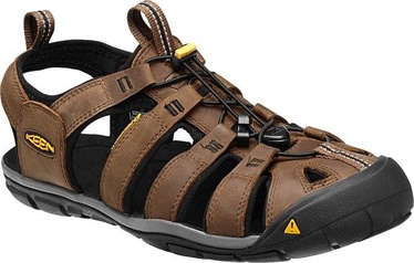 Sandales Keen Clearwater CNX Leather Black/Brown 44.5