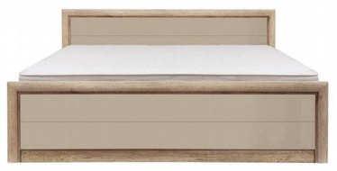 Gulta Black Red White Koen 2 Oak/Grey Sand, 160 x 200 cm