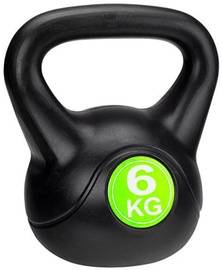 Avento Kettle Ball 6kg Black/Green