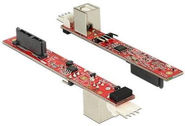 Delock Converter Slim SATA 13pin To USB 2.0 Type-B Female