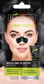Bielenda Carbo Detox Cleansing Carbon Nose Pore Strips 2pcs