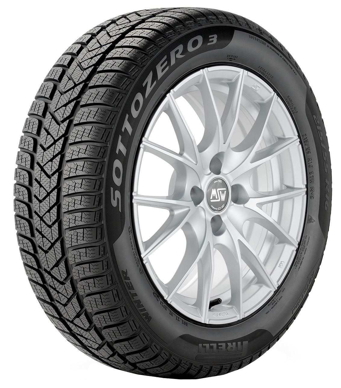 PIRELLI WINTER SOTTOZERO 3 225//55 R17 101V XL