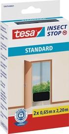 Moskītu tīkls Tesa Insect Stop Standard 55679, melna, 2200x650 mm