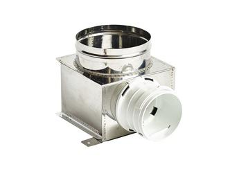 Pajungimo dėžė Rec Balticvent LDL, 125-75 mm