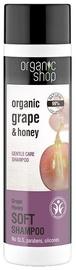 Šampūnas Organic Shop Grape Honey Soft, 280 ml