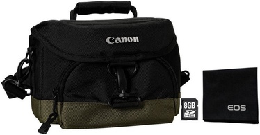 Canon EOS Accessory Kit 8GB Memory Card/Camera Bag 100EG/Lens Cleaning Cloth