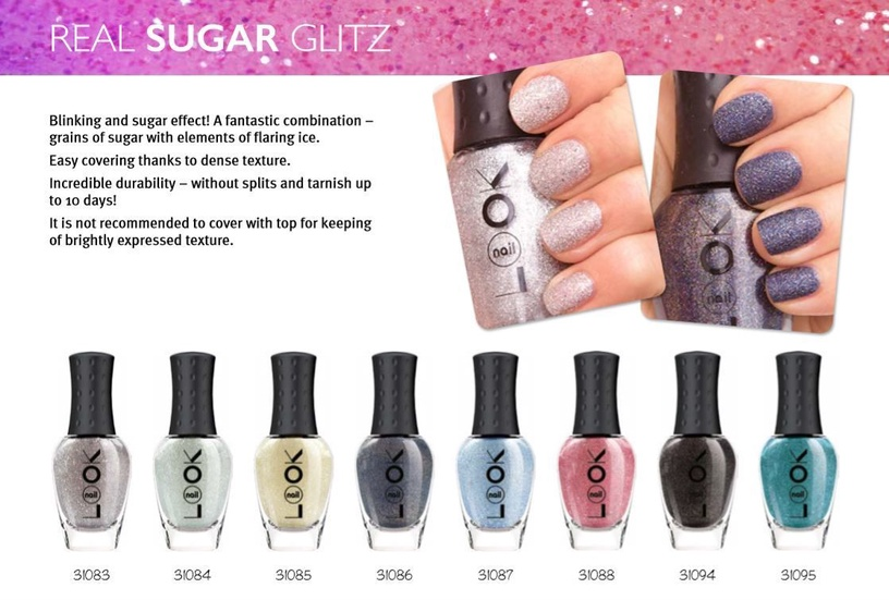 nailLOOK Real Sugar Glitz Polish 8.5ml 31095