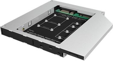 ICY BOX IB-AC650 mSATA / M.2 SSD to DVD bay