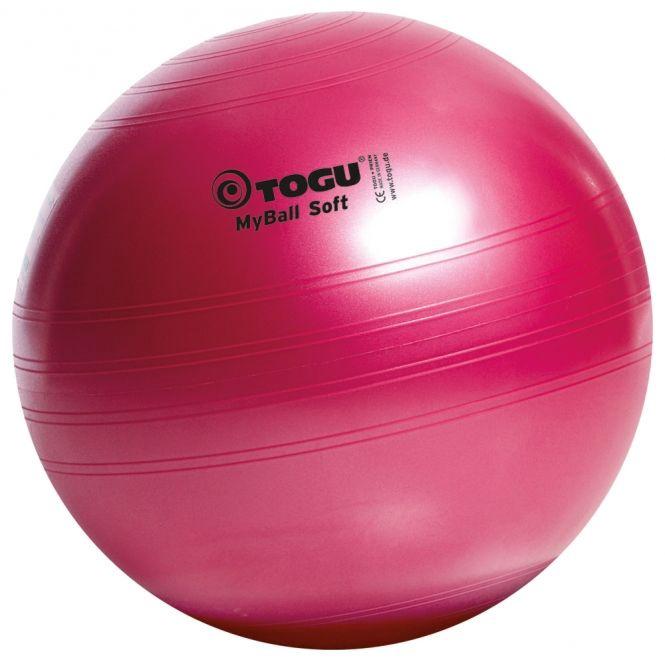 Togu MyBall Soft 75cm Rubinrot