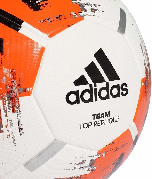 Adidas Team Top Replique CZ2234 White/Orange Size 4