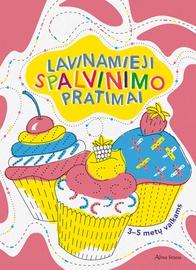 Knyga Lavinamieji spalvinimo pratimai 3-5 m. vaikams